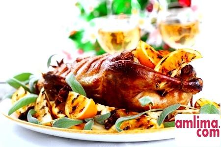 Простий рецепт запеченої качки - в духовці у фользі, в рукаві