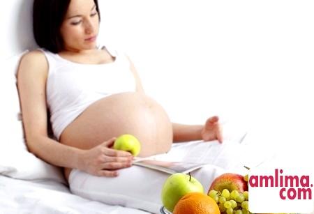 Раціон харчування вагітної жінки: калорійність, норми, меню