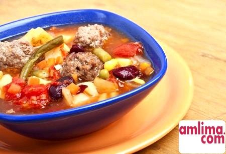 Різноманітні рецепти і способи приготування м'ясного супу з фаршу