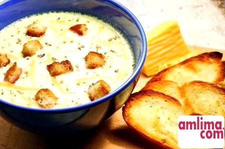 Рецепт французького супу з сиром