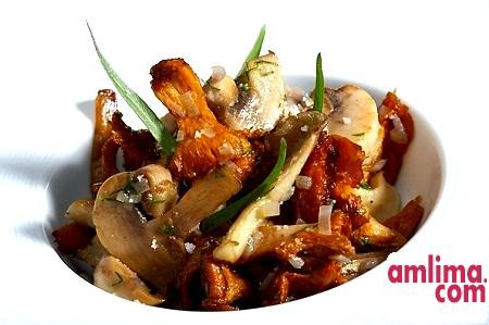 Рецепт фрикасе з курки з грибами