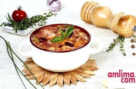 Рецепт грузинського супу харчо