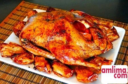 рецепт приготування качки в мультиварці
