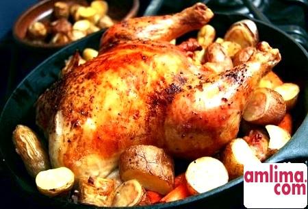 рецепт приготування качки в рукаві