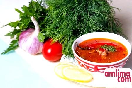 Рецепт смачного супу харчо