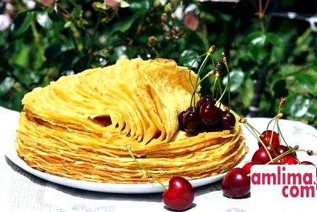 Рецепт смачних тонких млинців