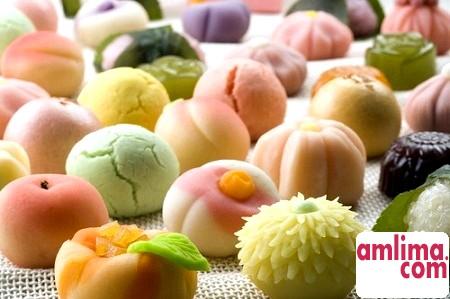 Рецепти десертів японських