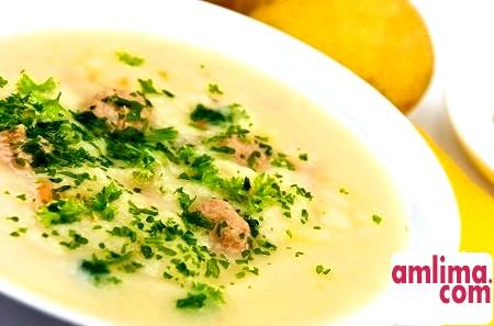 Рецепти курячих супів-пюре