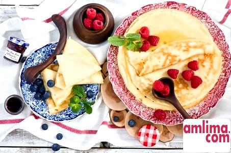 Рецепти приготування смачних млинців