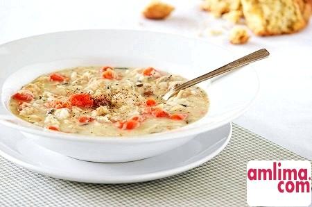Рисовий суп з курки - такі різні рецепти