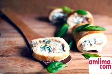 Рулет з омлету: рецепт приготування оригінального блюда