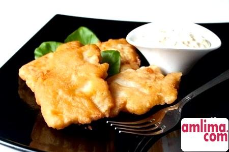 Риба в клярі з майонезом - швидко, соковито, смачно