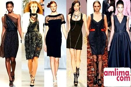 З чим носити чорне плаття? Шлях від скорботи до захоплення