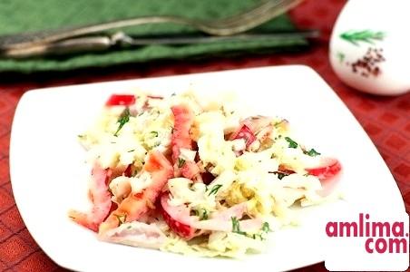 Салат з кальмарів: морські рецепти на святковий стіл