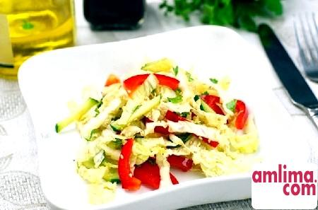 салат з китайської капусти