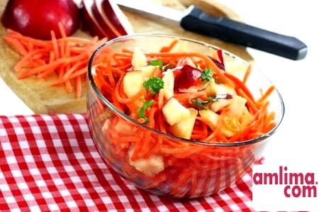 Салат з моркви і буряка, або ще раз про користь овочів