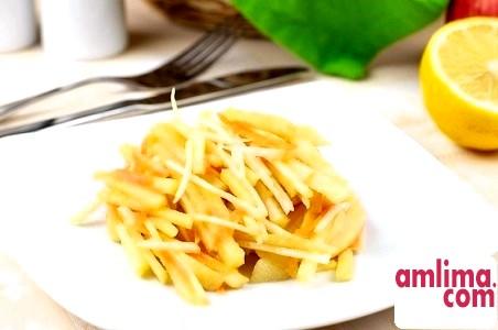 Салат із селери з яблуком: харчуємося з користю для здоров'я