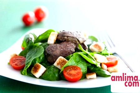 Салат зі шпинату. Різноманіття смаку