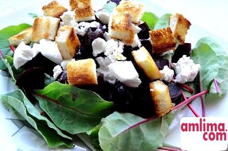 Салат з буряка з сиром - смачно і корисно