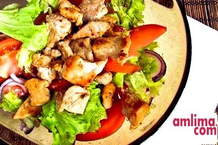 Салат зі свинини - політ кулінарної фантазії