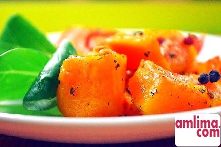Салат з гарбуза - десять найкращих рецептів