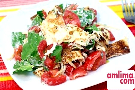 Салат з млинцями: з грибами, цибулею, куркою, шинкою. Вибирайте!