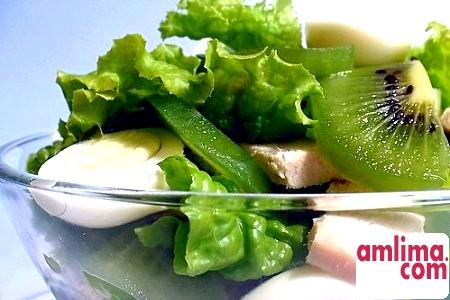 Салат з ківі: смачно і корисно