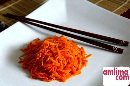 Салат з соєвим соусом - подарунок з Азії