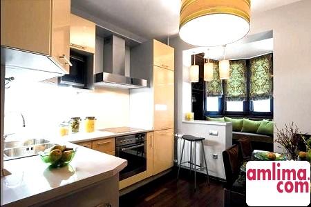 Сам собі дизайнер, або Планування кухні з балконом