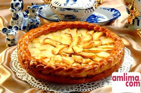 Самий смачний пиріг з яблуками тієї, Який приготовання з любов'ю