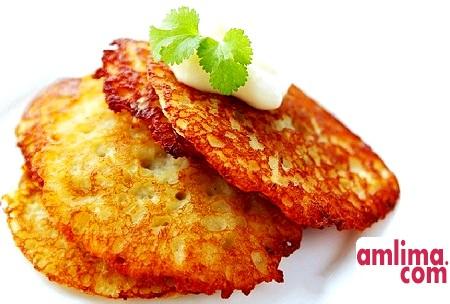 Секрети приготування картопляних оладок