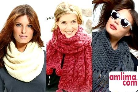 Як зв'язати красивий шарф? Легко!