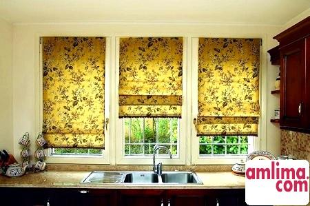 Шиємо кухонні штори