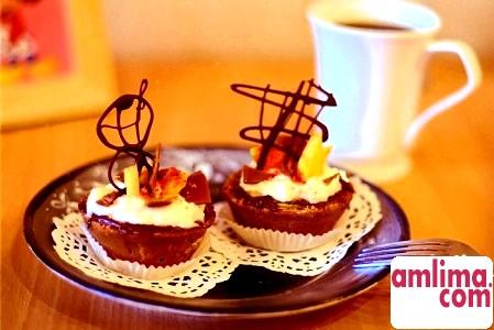Шоколадний кекс - відмінний початок дня