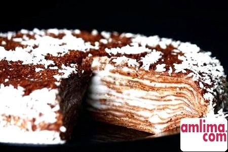 Солодкий млинцевий торт: десерт на кожен день