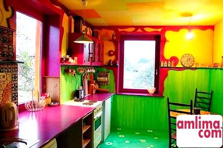 Поєднання кольорів в інтер'єрі кухні - діємо за правилами