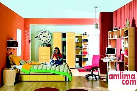 Сучасний інтер'єр кімнати підлітка