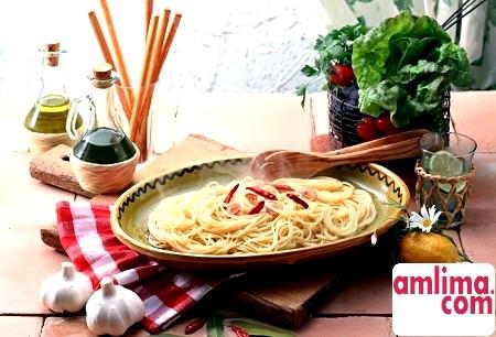 Спагетті як вид італійської пасти