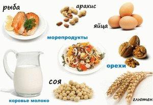 Фото - список продуктів при грудному вигодовуванні