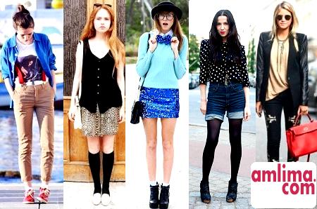 різні стилі одягу для підлітків