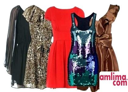 Стильні новорічні сукні