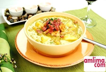 Суп гороховий з рулькой - це дуже-дуже смачно!
