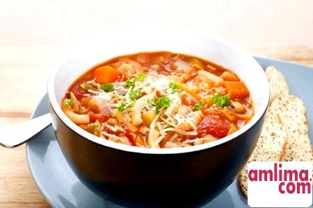 Суп мінестроне - рецепт родом з Італії