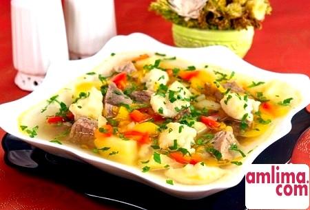 Суп з галушками: три варіанти одного рецепта