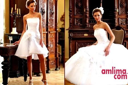 Весільне плаття трансформер - чудовий дизайнерський хід