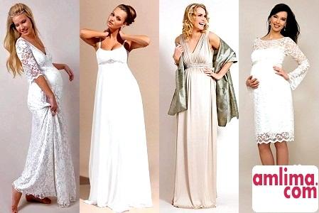 весільні сукні 2015 для вагітних фото