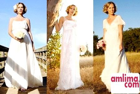 Весільні сукні для вагітних - 2015