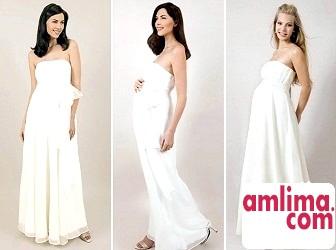 весільні сукні для вагітних в грецькому стилі