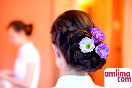 Весільні зачіски на довге волосся - будьте найкрасивішою нареченою!
