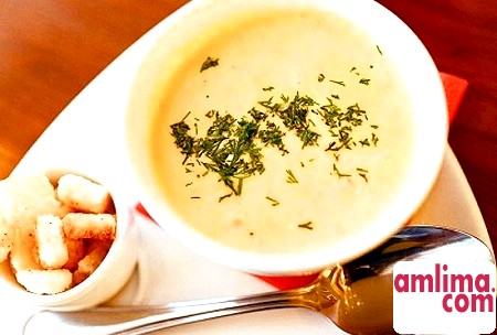 Сирні супи-пюре: рецепти для душі і тіла